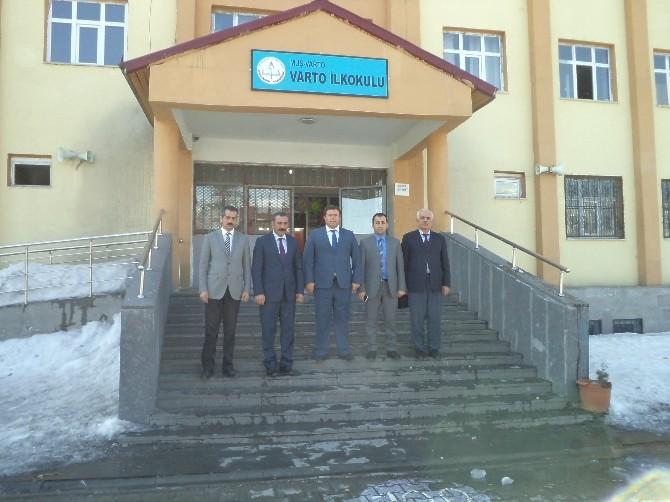 Muş Sosyal Güvenlik Kurumu İl Müdürü Varto'da