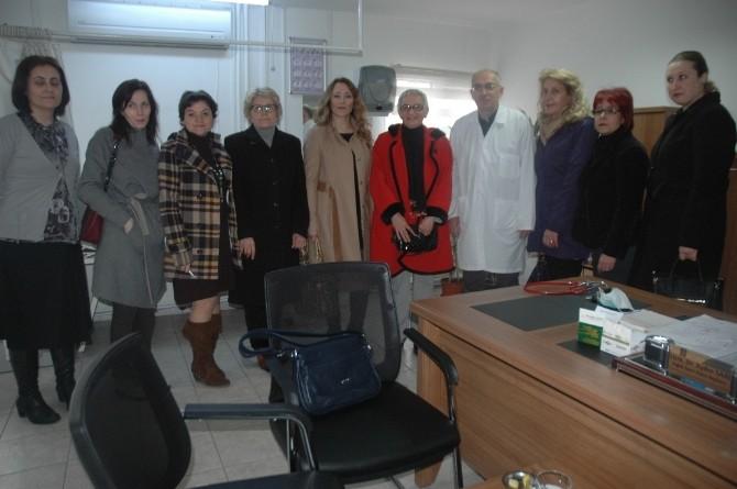 TKB Şube Başkanı Yağan Sakarya Büyükşehir Belediye Polikliniğini Ziyaret Etti