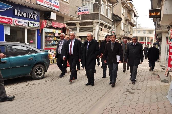 Tosya'da Belediyesi Çevre Düzenleme Çalışmalarına Hız Verdi