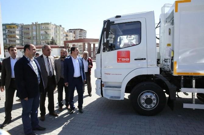 Türkiye Belediyeler Birliği'nden Araç Desteği