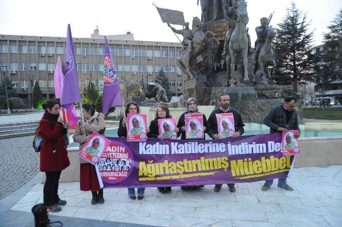 Uşak'ta Kadına Yönelik Şiddet Protesto Edildi