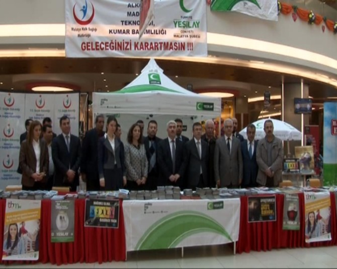 Yeşilay Haftası Malatya'da Da Kutlandı