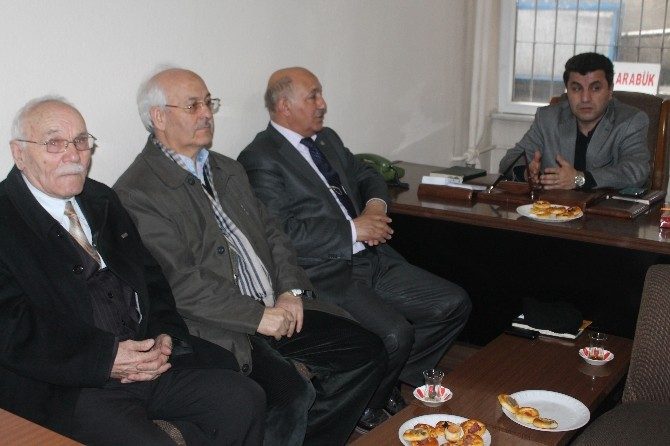 Cansız'dan Çankırı - Karabük İlleri Sosyal Yardımlaşma Derneği'ne Ziyaret