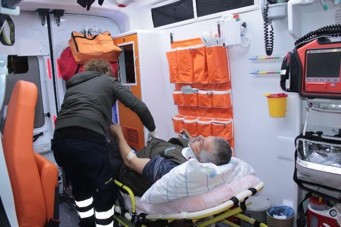 Kdz. Ereğli'de Kaza: 2 Yaralı