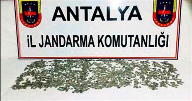 Manavgat'ta tarihi eser operasyonu