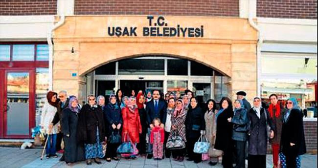 Uşak'ta kadınlar gezide buluştu