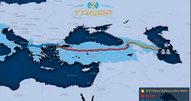 TANAP'ın temeli 17 Mart'ta atılıyor