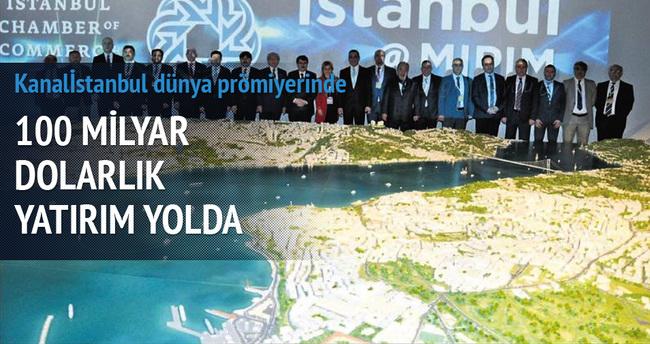 Kanalİstanbul dünya prömiyerinde