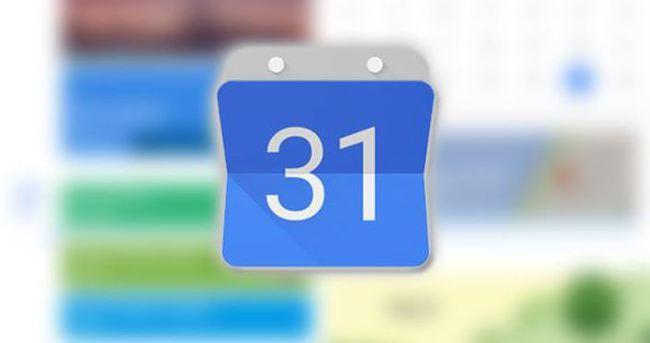 Google Takvim iOS'a geldi