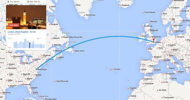 Google uçuş dostu yayında