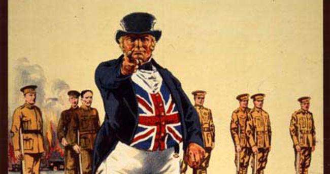 Amerikalıların Sam amcası gibi İngilizleri temsil eden kişi