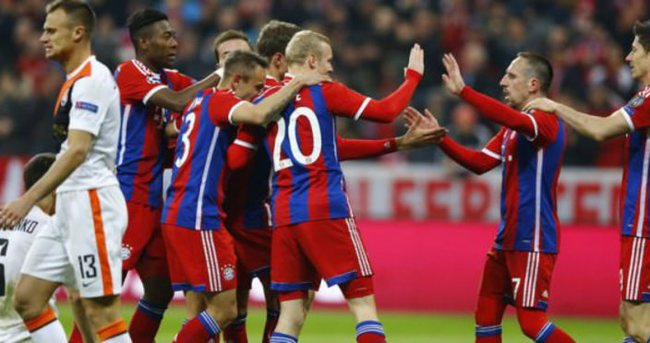 Bayern Münih Shakhtar maçı özeti ve golleri - GENİŞ ÖZET (Bayern gol oldu yağdı!)