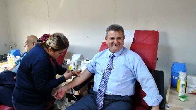 Aydın Esnafından Kan Bağışına Anlamlı Destek