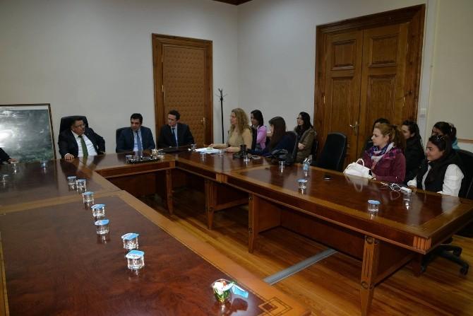 Ankara Üniversitesi Öğretim Üyeleri Ve Öğrencilerinin Bilecik Ziyareti