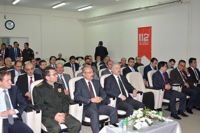 Burdur'da Afet Müdahale Toplantısı Yapıldı