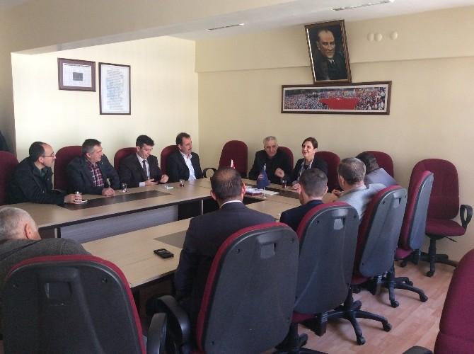 Prof. Dr. Gaye Usluer Türk İş'e Ziyaret