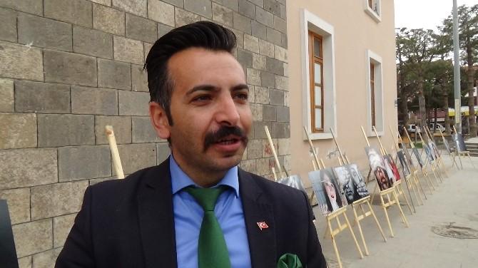 """Erzincan'da """"Kadına Şiddete Hayır"""" Sergisi"""