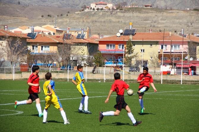 Erzincan'da Küçükler Futbol Heyecanı Başladı