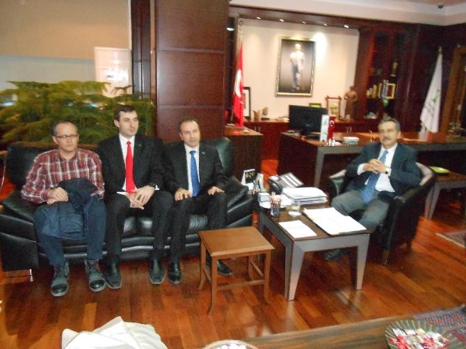 Eskişehir Ülkücü İşçilerden Başkan Ataç'a Ziyaret