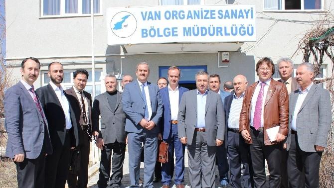 İranlı İş Adamları Van OSB'yi Ziyaret Etti
