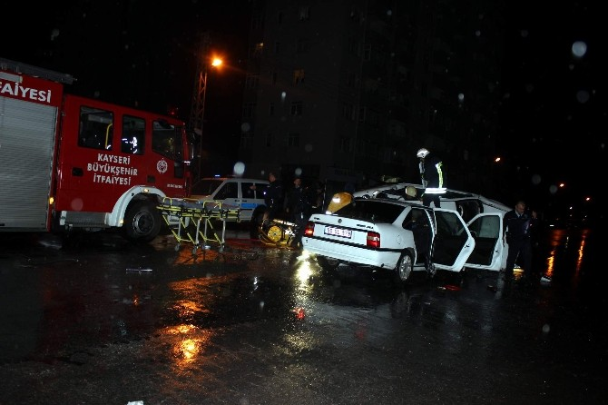 Kayseri'de Feci Kaza: 1 Ölü, 6 Yaralı