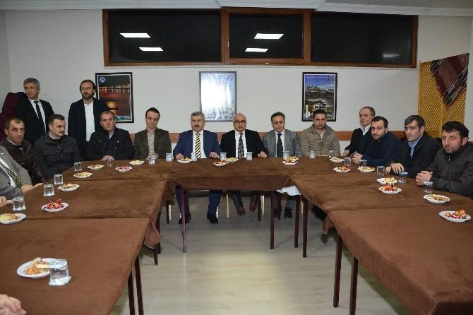 Başkan Baran Trabzonluların Konuğu Oldu