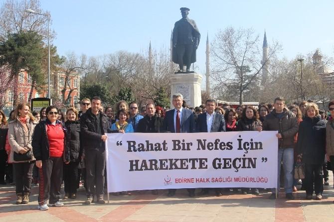 Edirne Halk Sağlığı Müdürlüğü'nden 'Pulmoner Rehabilitasyon' Etkinliği