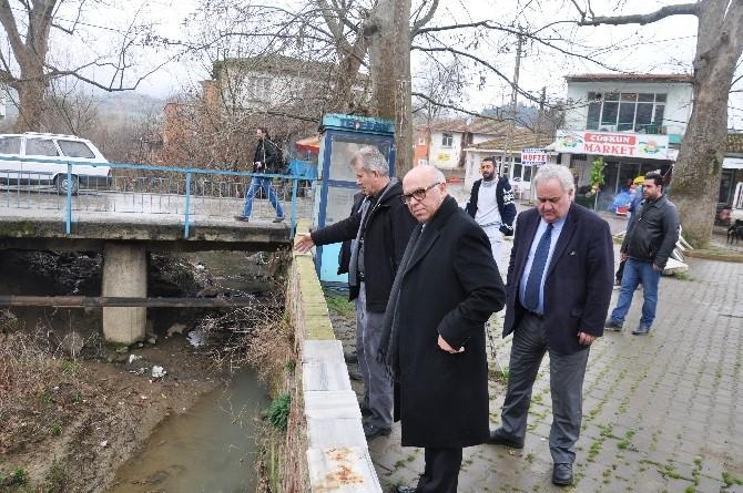 Süleymanpaşa Belediye Başkanı Ekrem Eşkinat Naip Mahallesi'nde İncelemelerde Bulundu