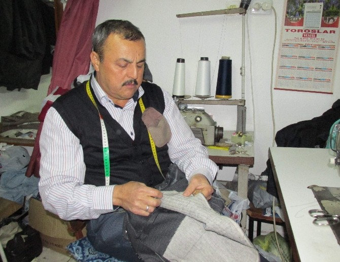 Aydın'da Terzilik Mesleği Unutulmaya Yüz Tuttu