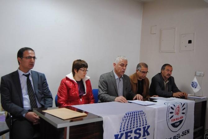 Tüm Bel-sen'den Göçlerin Yerel Yönetimlere Etkisi, Örgütlenme Ve Toplu Sözleşme Açıklaması