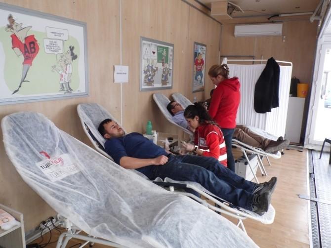 Korkuteli'nde 42 Ünite Kan Bağışında Bulunuldu