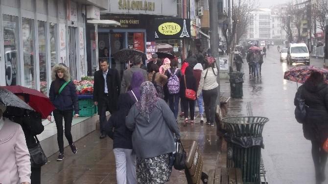 Eskişehir'de Kısa Süreli Ani Yağmur