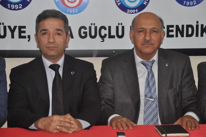 İbrahim Cansız'dan Türkiye Kamu-sen'e Ziyaret