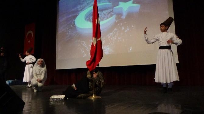 Kars'ta 12 Mart İstiklal Marşı'nın Kabulü Ve Mehmet Akif Ersoy'u Anma Günü