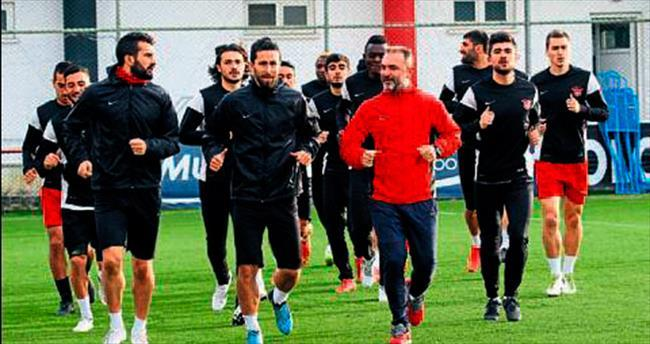 Gaziantepspor'da Trabzon mesaisi
