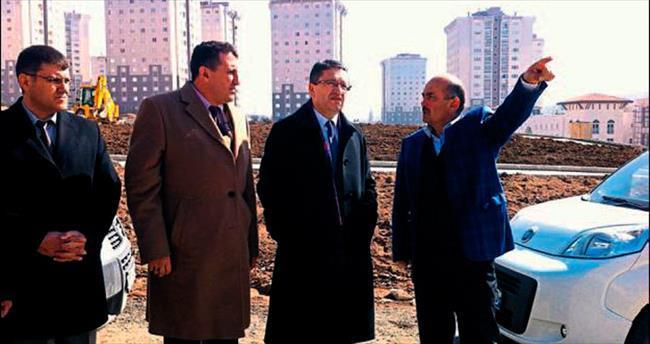 Başkan Tiryaki yatırımları inceledi
