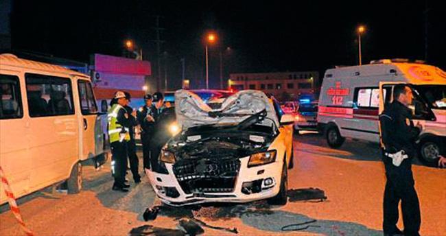 Ceset cipte kaldı, sürücü kaçtı