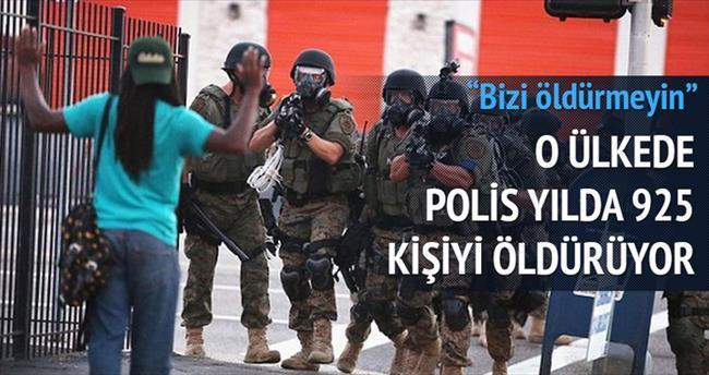 Terör değil polis öldürüyor