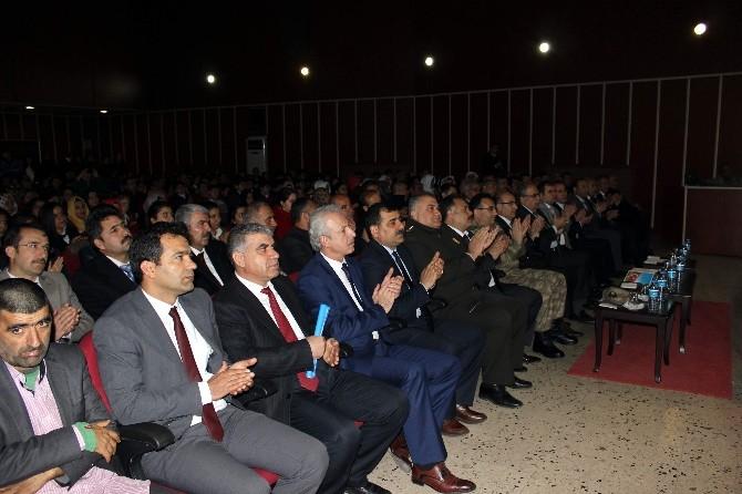 Adıyaman'da İstiklal Marşı'nın Kabulünün 94. Yıl Dönümü Etkinliği