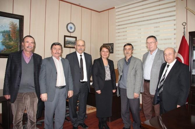 Prof. Dr. Arzu Çiçek'ten Ziraat Odalarına Ziyaret