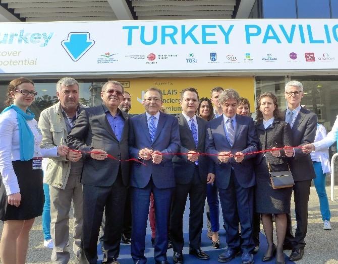ATO Başkanı Bezci Mıpım Türkiye Pavillionunun Açılışına Katıldı.