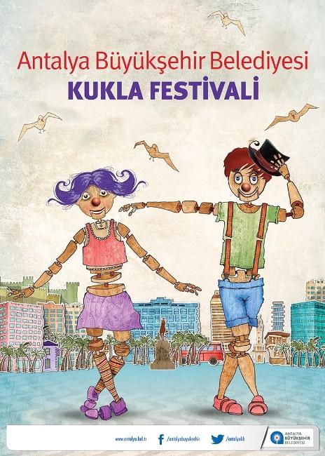 Kukla Festivali Antalya'da