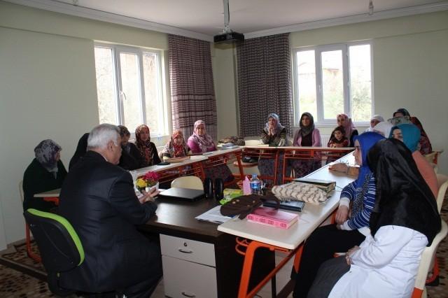 İl Müftüsünden Belde Kur'an Kurslarına Ziyaret