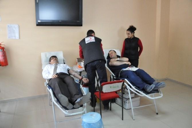 Bozüyük'te Kan Ve Organ Bağışı Kampanyası Düzenlendi