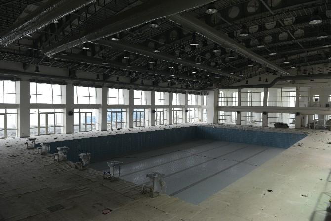 BEÜ Yarı Olimpik Yüzme Havuzu Haziran Ayında Açılacak