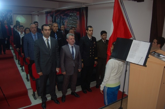 Lapseki'de İstiklal Marşının Kabulünün 94. Yıl Dönümü Etkinlikleri