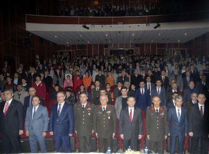 Diyarbakır'da İstiklal Marşı'nın Kabulünün Yıldönümü Etkinliği