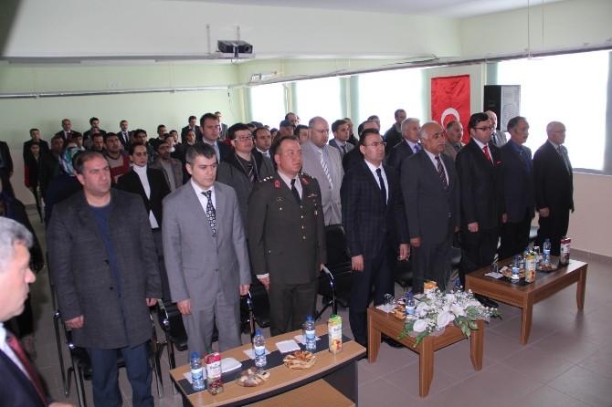 Çıldır'da 12 Mart İstiklal Marşının Kabulü