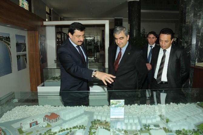 KKTC Büyükelçisi'nden Başkan AK'a Ziyaret