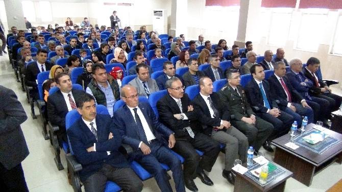 Kızıltepe'de İstiklal Marşı'nın Kabulünün Yıldönümü Etkinlikleri